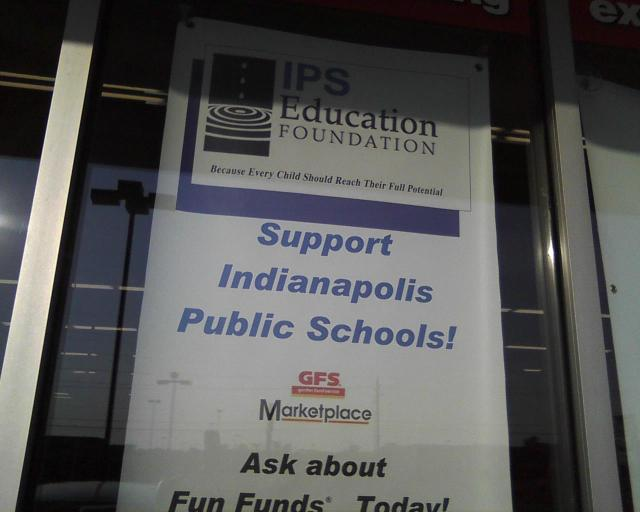 IPS slogan: 'Because Every Child Should Reach Their Full Potential'